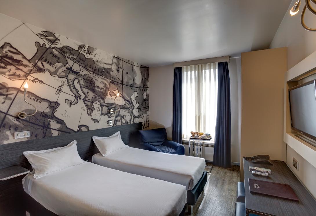 Chambre TWIN de l'Hôtel Vivaldi